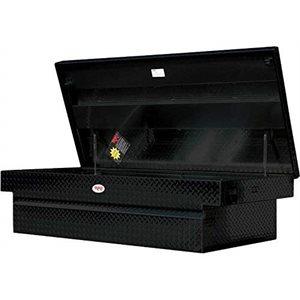 RKI TOOL BOX ALUMINUM WIDE BLACK